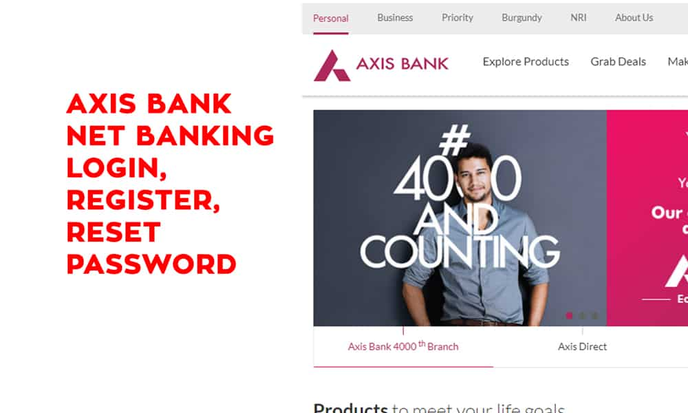 Axis Bank Net Banking Online