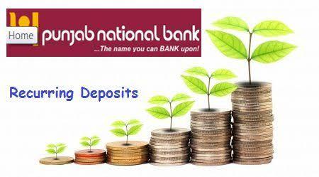 Punjab National Bank Recurring deposit