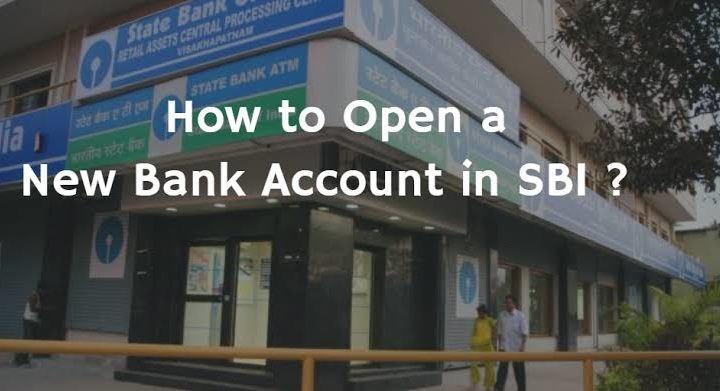 SBI New Account Opening